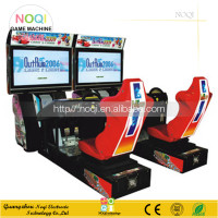 NQR-C07 High quality 42''LCD 3D Outrun Racing Car game machine driving simulator