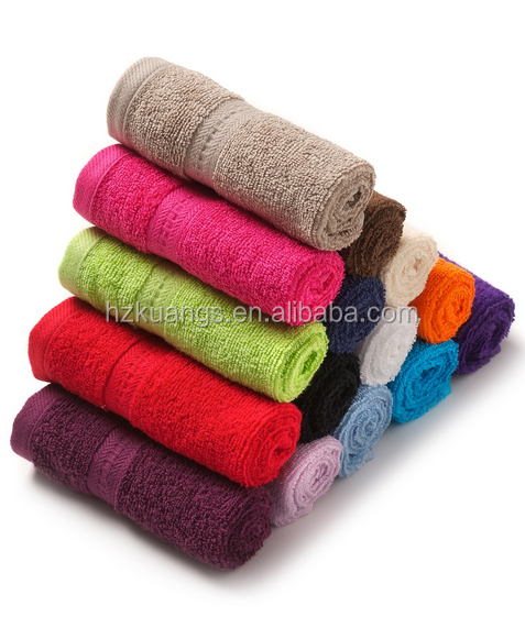 China supplier bamboo fabric face towel wholesale