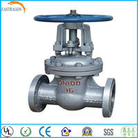 Marine DIN Cast Steel Gate Valves PN16 DN100