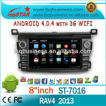 LSQ Star Android 4.0 Autoradio For Toyota Rav4 2013 Gps Radio Manufacturer With Ipod/bt/wifi Drive Your Life!