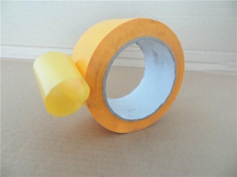 Custom 30m 48m 50m yellow masking tape for painting and masking