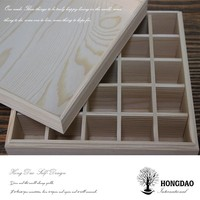HONGDAO customized essential oil packaging boxes with clear lid