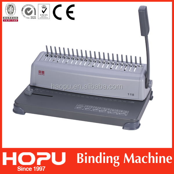 China hot sale coil binding equipment plastic book binder