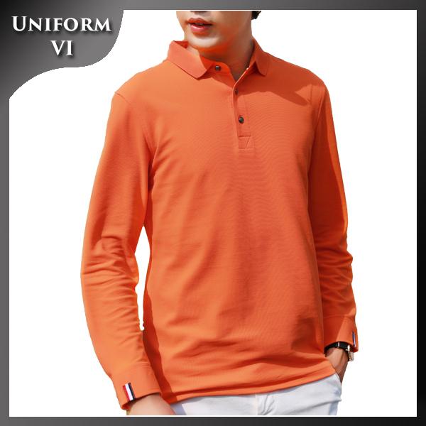 Popular mens tennis bulk wholesale leisure long sleeve polo t shirt customize design