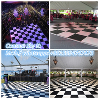 2015 world top selling super slim/portable patent led dance floor