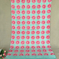 100% Cotton Custom Promotional Reactive Printed Beach Towel