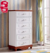 Import Mediterranean style bedroom big space drawer cabinet
