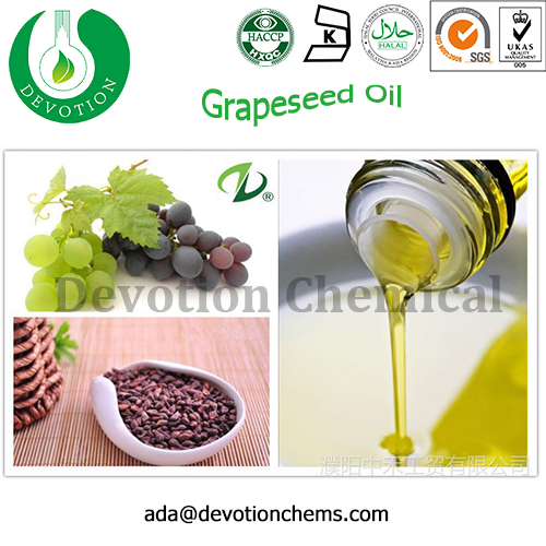 High Quality Oem/odm Supply Grapeseed Carrier Oil Base Oil Massage Oil For Skin Care