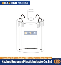Low cost hot selling storage flexible container bag