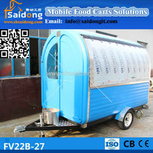 Producing high quality used food carts for sale/used food trailers for sale/used food vans for sale
