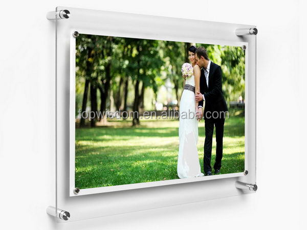 Durable hot sale 15 inch battery operated digital photo frame
