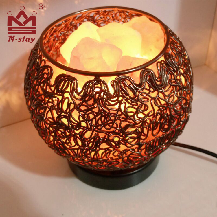 Himalayan salt lamps wholesale Natural mineral dimming bedroom bedside creative lamp