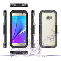 For samsung galaxy s7 waterproof hybrid pc+silicon combo mobile phone cover case