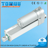 TOMUU customization supported small and powerful waterproof 12v 24v high-speed electric linear actuator