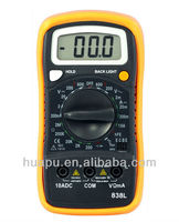HP838L digital pro multimeter manual