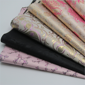 Silver PA Coated 190T Taffeta Fabric for Lining