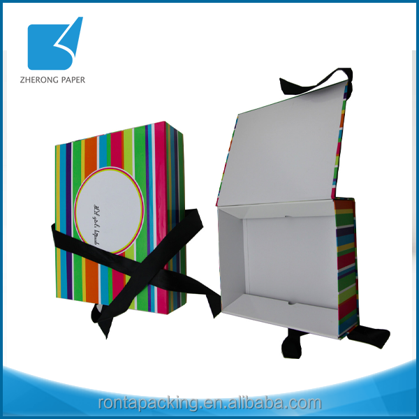 Promotion special eco-friendly reusable box packaging gift from China factory