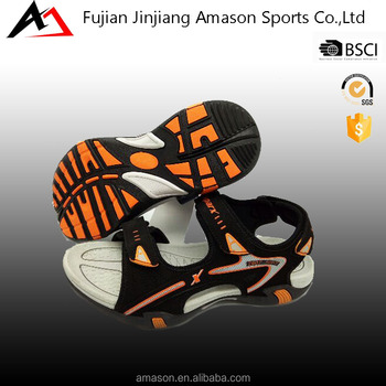 Custom wholesale high quality pu men sport sandals for sale