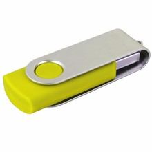 Common Swivel Usb Flash Drive Twist Memory Stick Pen drive 2gb 4gb 8gb U Disk with logo printed