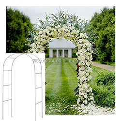 Metal Arch Wedding Garden Bridal Party Decoration Arbor