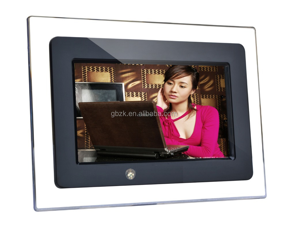 "Instore 7"" 9"" 10"" motion sensor functional lcd advertising player/monitor/display/screen"