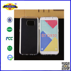 Glossy waterproof transparent case China supplier for Samsung Galaxy S7 G930