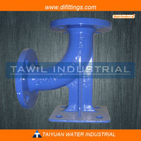 TAWIL 90 degree Duckfoot Bend with Epoxy Coating and Internal Lining