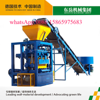 New QT4-24 simple concrete blocks making plant blocks forming machine for sale