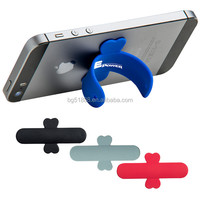 Promotion Silicone Mobile Phone Holder, Silicone Mini Universal Rubber Cell phone Stand,