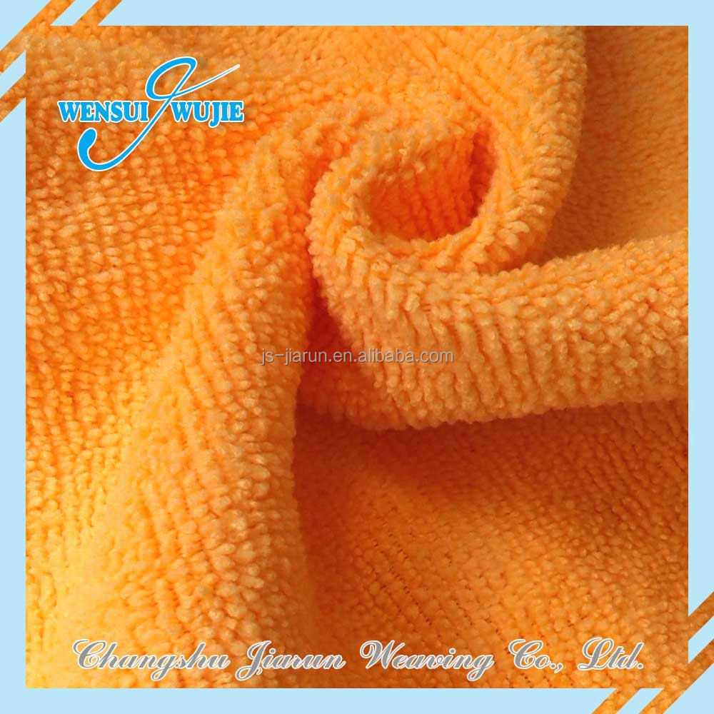 Sell-well Home Textiles Cleaning floor microfiber towel Fabric