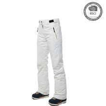 Womens Hot Ski Pants White