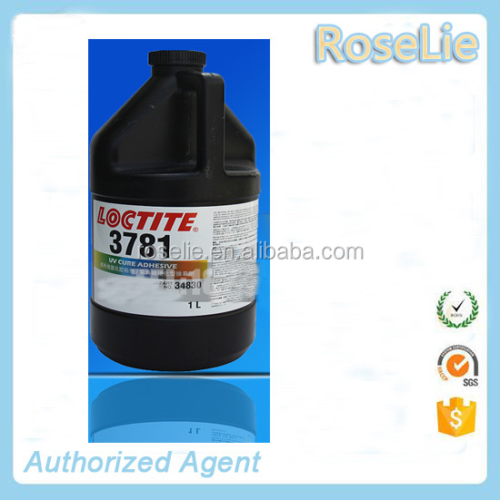 loctite 3781 single component uv glue 1L / loctite 3781 uv light curable sealant / loctite 3781 light cure adhesive 1000ml