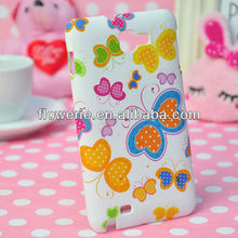FL3137 2013 Guangzhou high quality stylish butterfly print hard back cover case for samsung galaxy note n7000 i9220