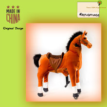Funny riding toys!! EN71 ASTM Best toy horse for children, ride on horse for children, children toy horse on wheels