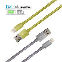 Make In China Mobile Phone Accessories Nylon Jacket Stout Cable With Micro USB