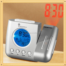 High-grade Backlit Projection Clock Calendar,Digital Desktop Clock Calendar