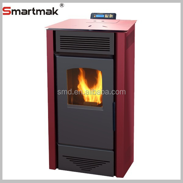 20kw/24kw cast iron pellet boiler stove,pellet stove with hot water