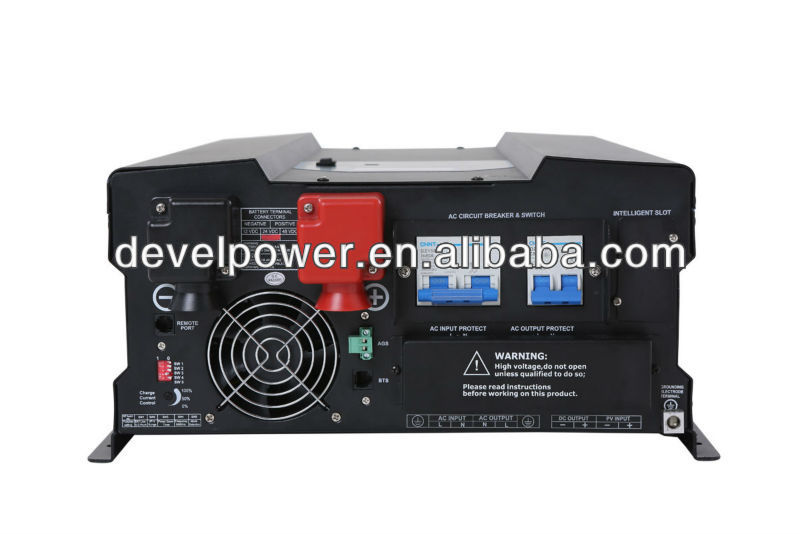 solar power inverter 24vdc 230vac 4000va