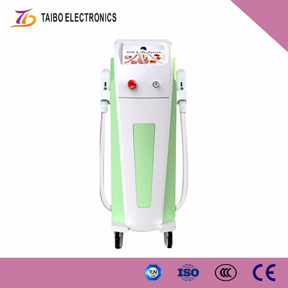 new 2016 innovative LASER SHR beauty equipment for face spa and permanent hair removal Distributor