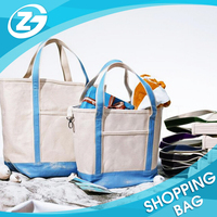 High Quality Hot Sale Cheap Shopping Canvas Carry Bag