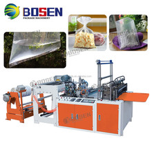 Four Layers Two Line Heat Sealing Cold Cutting Bag Making Machine