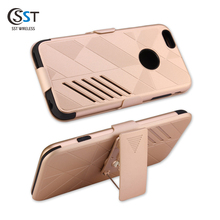 Factory direct selling tpu pc cover for iphone 6 plus ,free sample belt clip case cover for iphone 6s plus