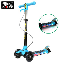 Factory direct supply kids 3 wheel scooter folding kick scooter