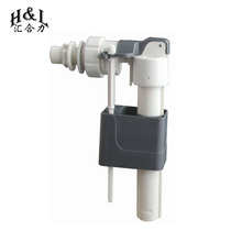 Toilet cistern flush mechanism of toilet fill valve with brass or Plastic thread for concealed toilet