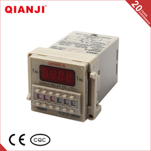 QIANJI China Time Delay Relay DH48S-S 24 Hours Timer Relay 12Volt 24V