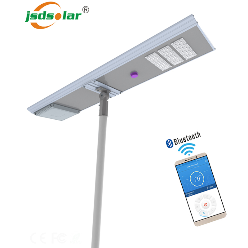 100 watt solar led street light lamp with solar panel and <strong>battery</strong>