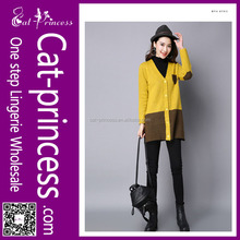 Autumn and winter new code sweater female long cardigan sweater