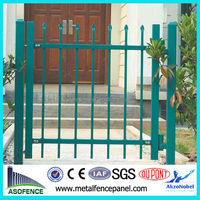 AS 1926.1-2012 Powdercoated Square Tube Spear Iron Fence
