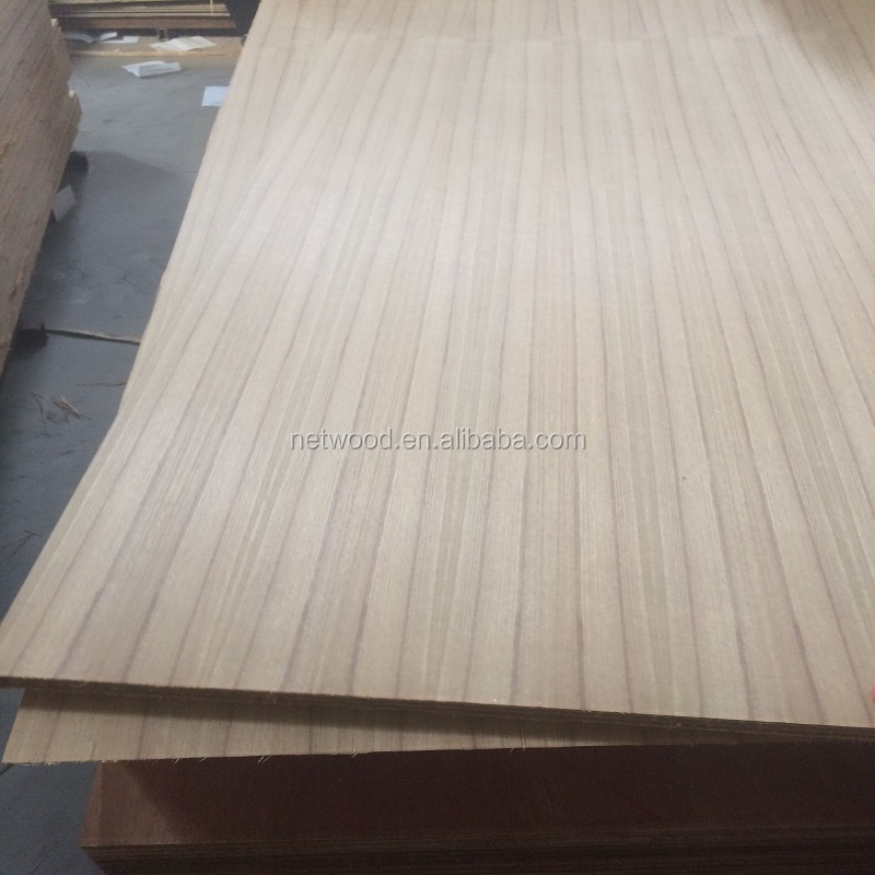 3-20mm natural fancy teak veneer plywood A AA AAA grade low price 2.5mm 2.7mm 3mm 3.2mm