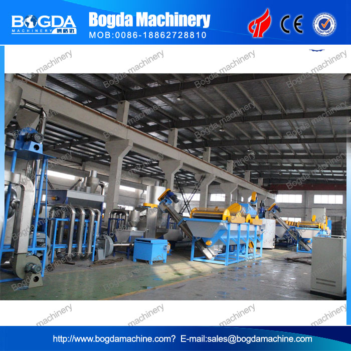 Waste Plastic Crushing and Washing Machine for Sale